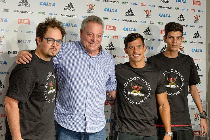 Abel Braga se apresenta ao Flamengo cobrando salto para títulos - TNH1 c50fe75ce0
