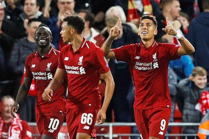 Liga dos Campeões  Firmino decide no fim e Liverpool bate o PSG - TNH1 15d94a8d55fb2
