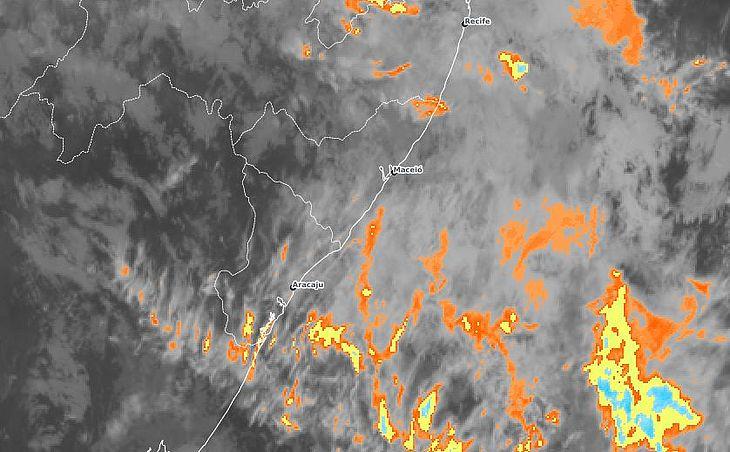 Confira a previsão do tempo para esta sexta-feira em Alagoas - TNH1