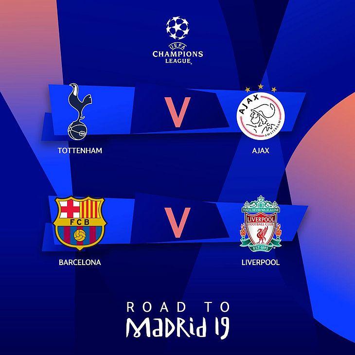 Champions League 4 Matchday Round Season 2018 2019: Uefa Divulga Datas Das Semifinais Da Liga Dos Campeões Da
