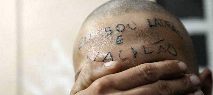 Justiça Condena Dupla Que Tatuou A Frase Eu Sou Ladrão Na Testa De