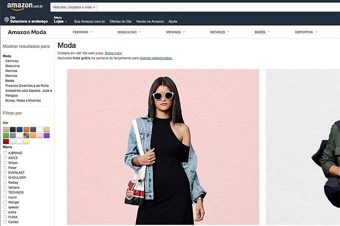df55e158bbed Amazon começa a vender produtos de moda e esportes no Brasil - TNH1