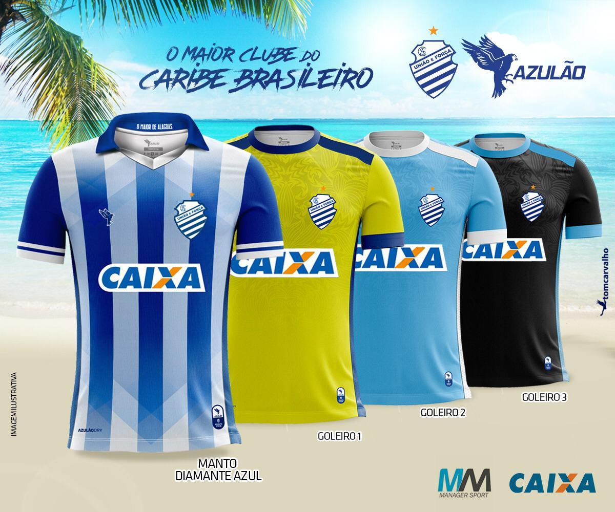 CSA apresenta nova linha de uniformes para a temporada 2019  veja imagens -  TNH1 781d0610e6bfa